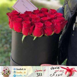 باکس گل ولنتاین